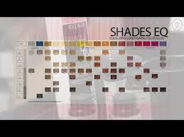 Shades Eq Toner Chart Redken Shades Eq Hair Color Mixer The L A Collection