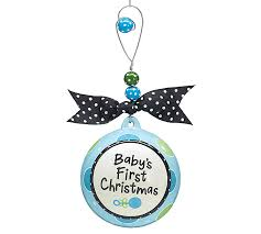 Ornament - Baby Boy First Christmas-christmas ornament, baby christmas  ornament, babys first