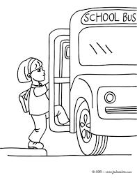Coloriages Coloriage Bus Scolaire Fr Hellokids Com