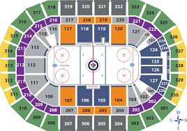 Bell Mts Place Seating Chart Views And Reviews Winnipeg Jets