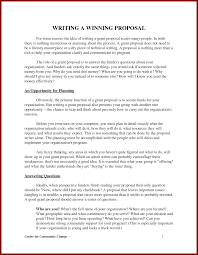 proposal writing example sendletters info proposal writing format server by bel89553
