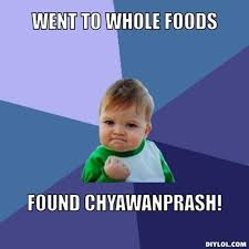 DIYLOL - Went to Whole Foods Found Chyawanprash! via Relatably.com