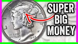 96 000 Rare Dime How To Tell If You Have This 1945 Mercury Dime Worth Money