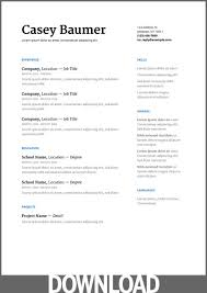 Office Resume Template Gorgeous Download 48 Free Microsoft Office DOCX Resume And CV Templates