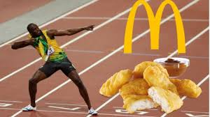 nutritionist explains why usain bolt s 100 mcdonald s nuggets a day t at beijing olympics