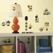 Peel And Stick Wall Decor Roommates Rmk3000scs Minions The Movie Peel And Stick Wall Decals