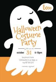 Halloween Party Invitation Templates Free Greetings Island