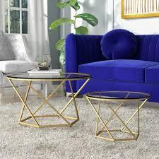 adrianna 2 piece coffee table set