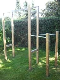outdoor pull up bar ideas backyard plans chin station