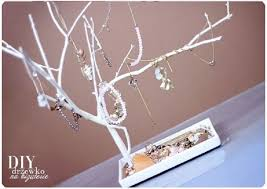 diy jewelry holder tree