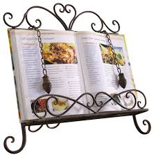 cream recipe book stand home furniture design kitchenagenda