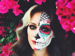 cosmopolitan on twitter oh nothing just 21 sugar skull makeup looks that will take your freaking breath away t co xrn3xhgwbl