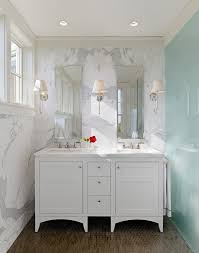 traditional bathroom lighting ideas white free standin. Small Bathroom Recessed Lighting Traditional With White Vanity Marble Wall Cabinet Ideas Free Standin T