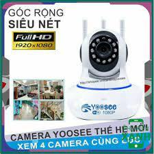 Bộ Camera Giám Sát Ip Yoosee 3 Râu 2.0 full HD1080