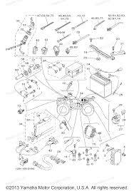 Yamaha atv parts 2005 kodiak 450 4wd yfm45fat electrical 1 diagram