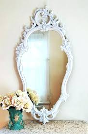 vintage wall mirror wall mirrors old antique mirrors for vintage mirror with shelf tall white vintage wall mirror