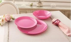 <b>Тарелка обеденная</b> круглая 26см <b>Luminarc Arty</b> Pink L1050 ...