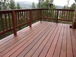 simple wood patio designs. Image Of Wooden Patio Railings Simple Wood Designs N