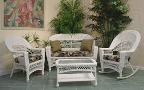 Fancy Inspiration Ideas White Wicker Patio Furniture Veranda Outdoor