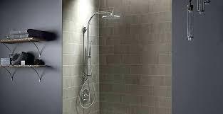 s kohler rain head shower arm