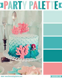 Party Palette: Ombre mermaid cake