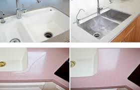 countertop refinish kitchen sink replacement