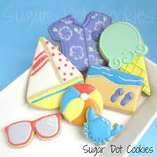 decorated summer sugar cookies.  Cookies Decorated Sugar Cookies With Summer Sugar Cookies A