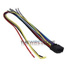 kenwood wiring harness ebay Kenwood Car Stereo Wiring Harness 16 pin wire harness for select kenwood car radio cd player stereo receiver kenwood car stereo wiring harness colors