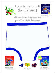Design Own Pants Aliens In Underpants Design Your Own Pants Scholastic Shop