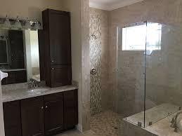 Custom Master Bath with Walk-In Shower