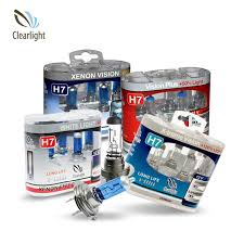 Галогеновая <b>лампа Clearlight H7</b> 12 В-55 Вт - купить недорого в ...