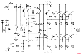 400w mosfet amplifier circuit irfp448