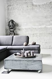 Then, think about the color of the base. Concrete Coffee Tables You Can Buy Or Build Yourself