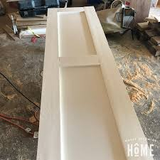 i realize without mortise and tenon joinery this diy two panel shaker style door is not a top of the line high end door though it seems far more sy