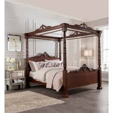Four Poster Bed Lincoln Four Poster Antique French Style Bed Mahogany Furniture