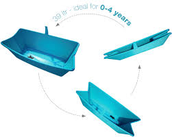 flexibath a new concept in baby baths paing without tears cool travel bath