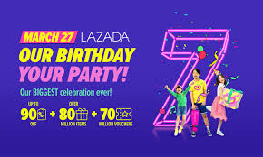 celebrate lazada s 7th birthday with these amazing deals