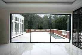 standard sliding glass door sizes bedroom