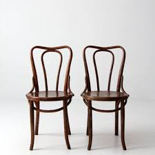 antique thonet chairs for sale. free ship antique bentwood chairs / thonet style cafe chair pair for sale e
