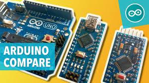 Arduino nano has the same functionality but is smaller in size than arduino uno. Comparing Arduino Uno Nano Pro Mini Arduino Tutorials Net Youtube