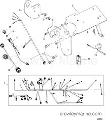 Lifting brackets and wiring harness serial range mercruiser 496 rh crowleymarine mercury tachometer wiring harness marine engine wiring harness
