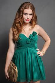 holland roden red hair