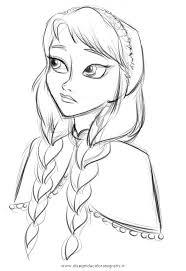 Disegno Frozenanna3 Personaggio Cartone Animato Da Colorare