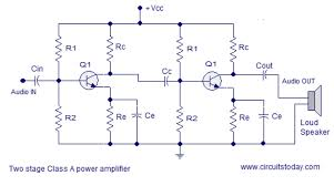 circuit diagram of class a amplifier the wiring diagram class a power amplifier circuit theory design circuit diagram circuit diagram