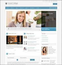College Templates 30 Best Education Wordpress Themes And Html Templates