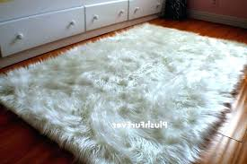 light pink faux fur rug home ideas large sheepskin furry area rugs blankets