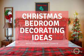 christmas bedroom decorating ideas with