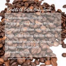 As with all scrubs, a coffee scrub can help exfoliate the surface of your skin, lifting away dull, dead skin cell buildup and leaving you with a complexion that looks more radiant. Zero Skin Coffee Body Scrub With Coconut Oil Vitamin E Himalayan Rock Salt Review Coffee Body Scrub Body Scrub Coffee Face Scrub
