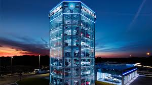 Carvana Vending Machine Locations Interesting Buy a used car online and pick it up at this 48story tall vending