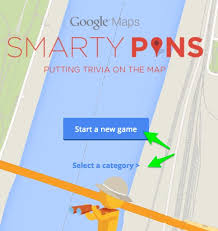 Smarty Pins Google Map Game